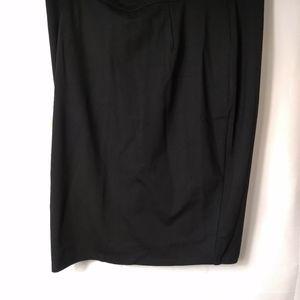 NWT city Chic black skirt XXL full zipper back